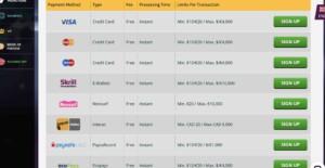 Playamo Casino Banking Options
