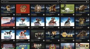 Virtual Sports Games at GoldenLine Casino