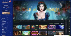 Top Slots and More at Sapphire Bet