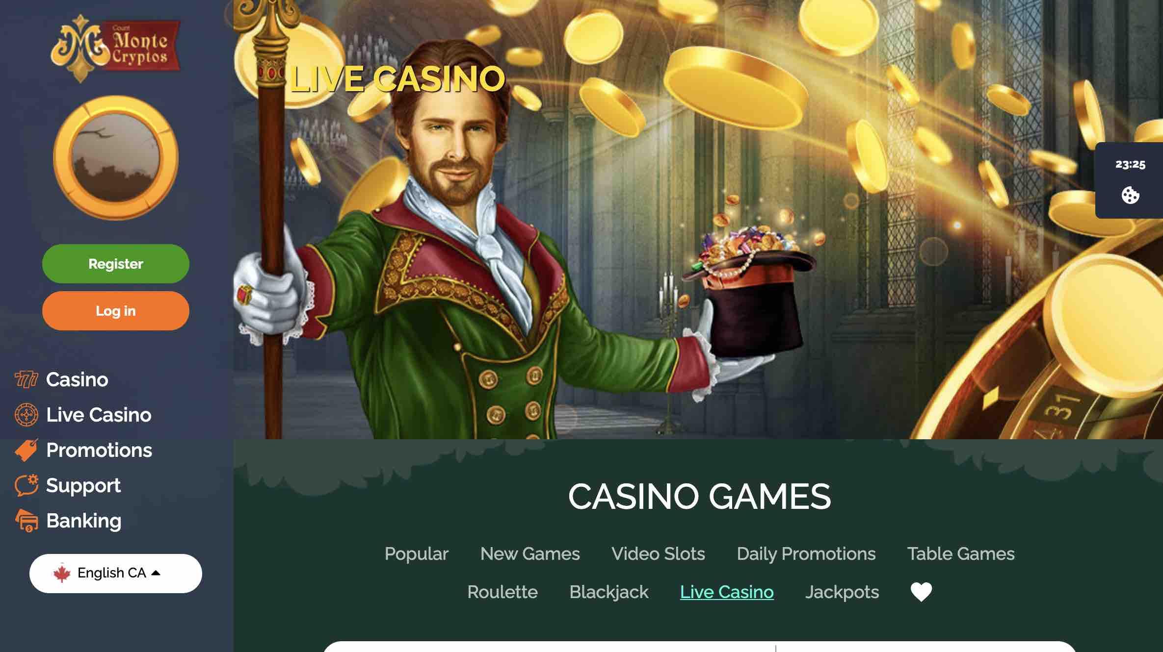 montecryptos casino promotions and more
