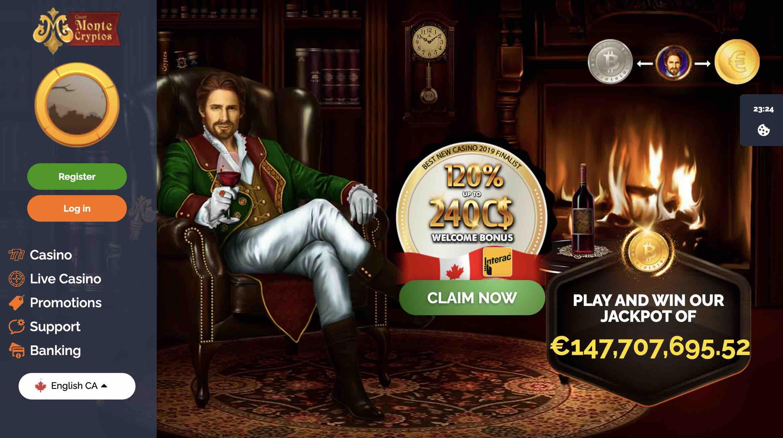 play the best games at montecryptos casino