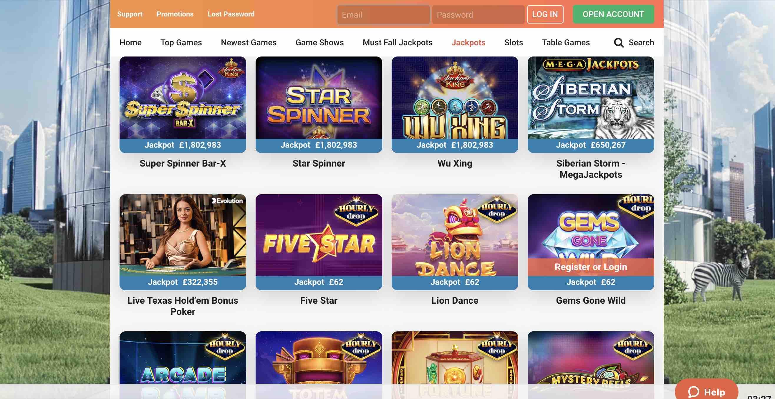LeoVegas Casino Slots and More