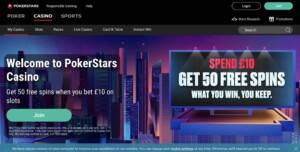 PokerStars Casino Casino Games
