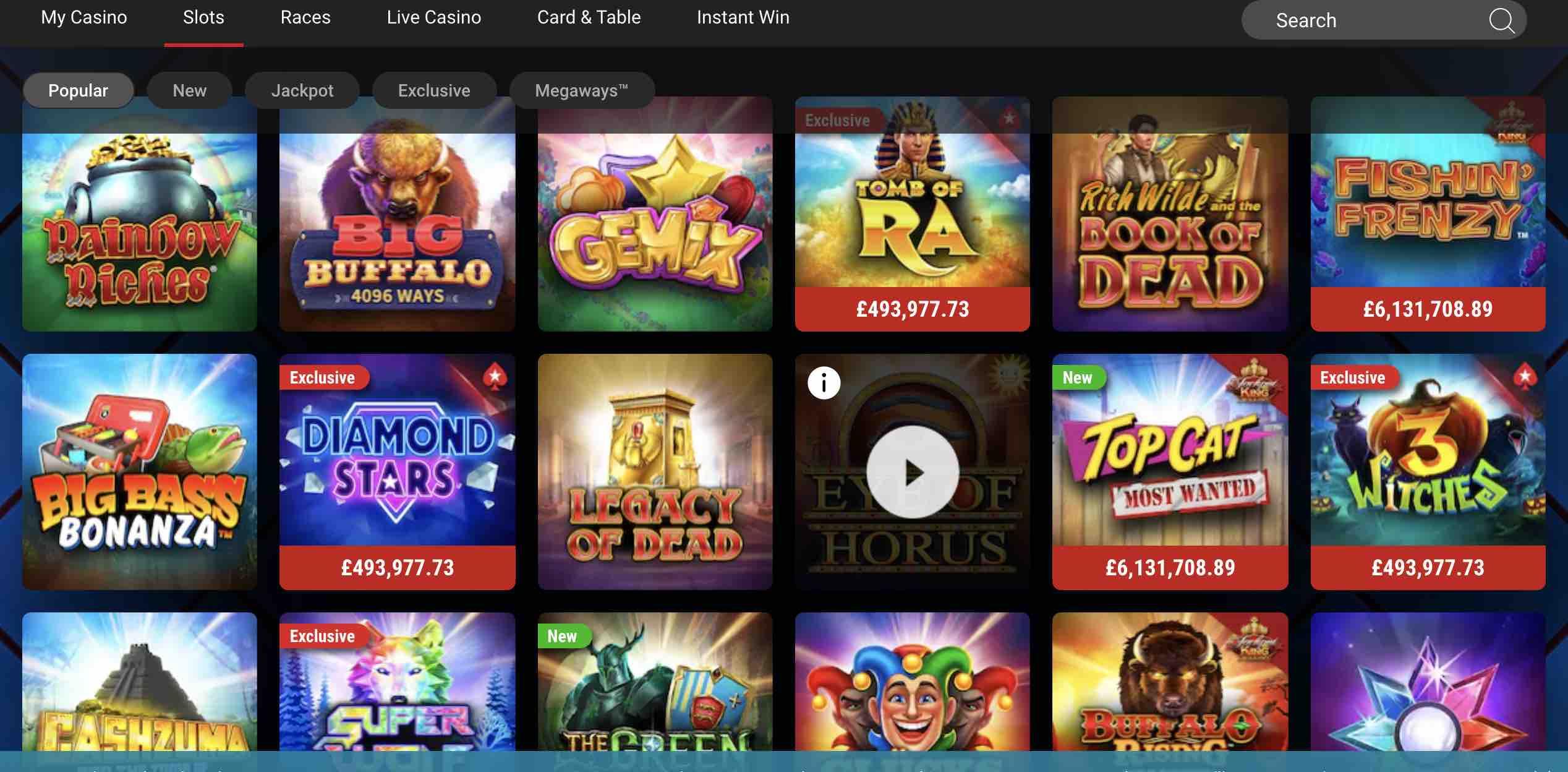 PokerStars Casino Slots and More