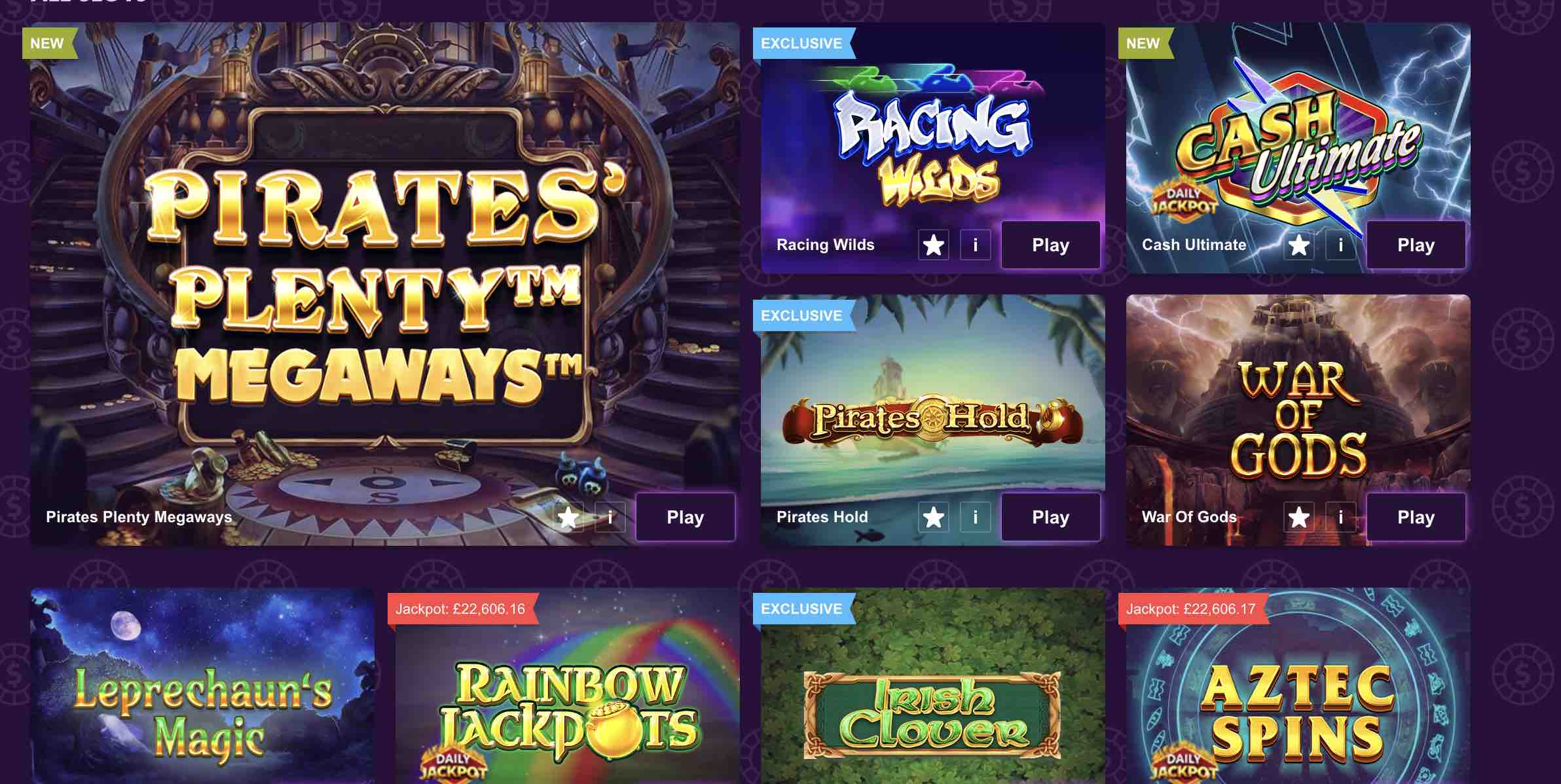 Best Games at Paddy Power Casino