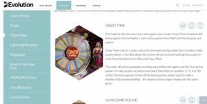 Find the Best Evolution Gaming Casinos