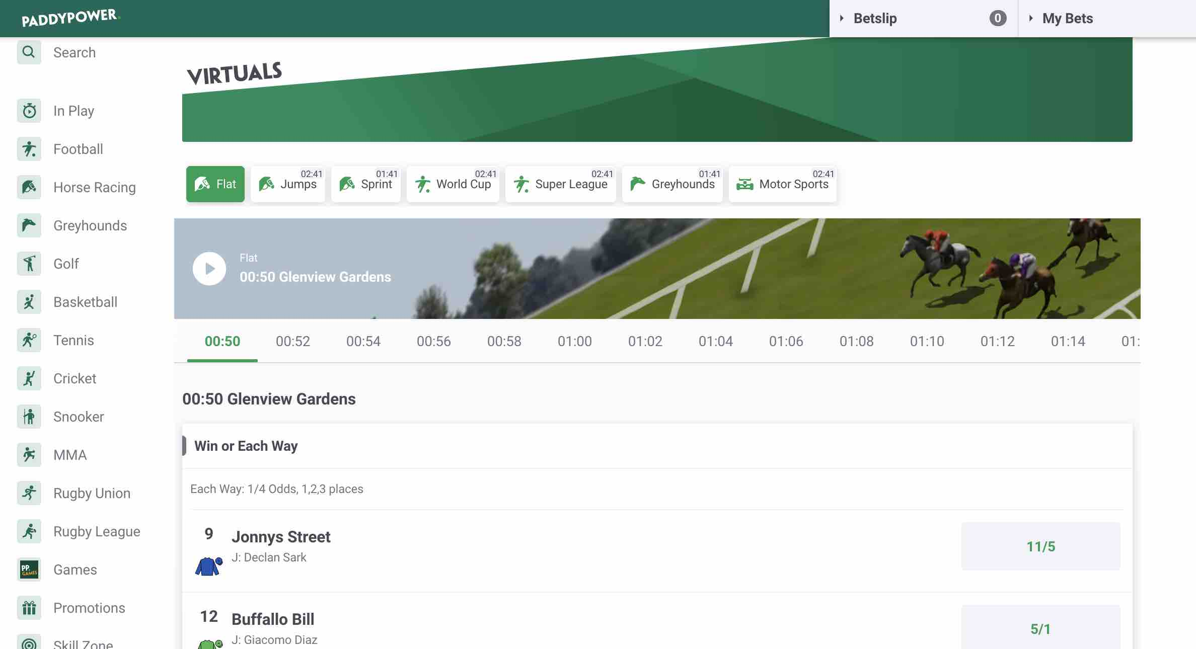 Paddy Power Casino and Sports