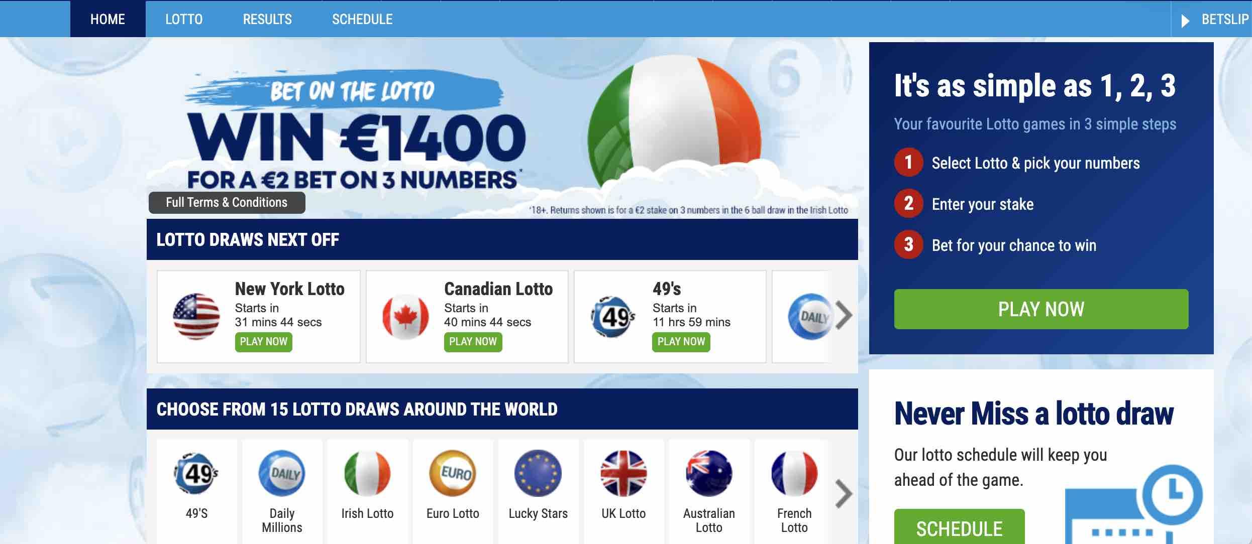 Play Lotto at BoyleSports Casino