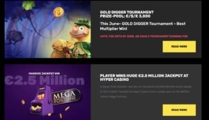 Hyper Casino Bonuses