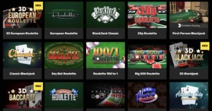 Hyper Casino Games