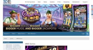 Play Slots from SG Gaming