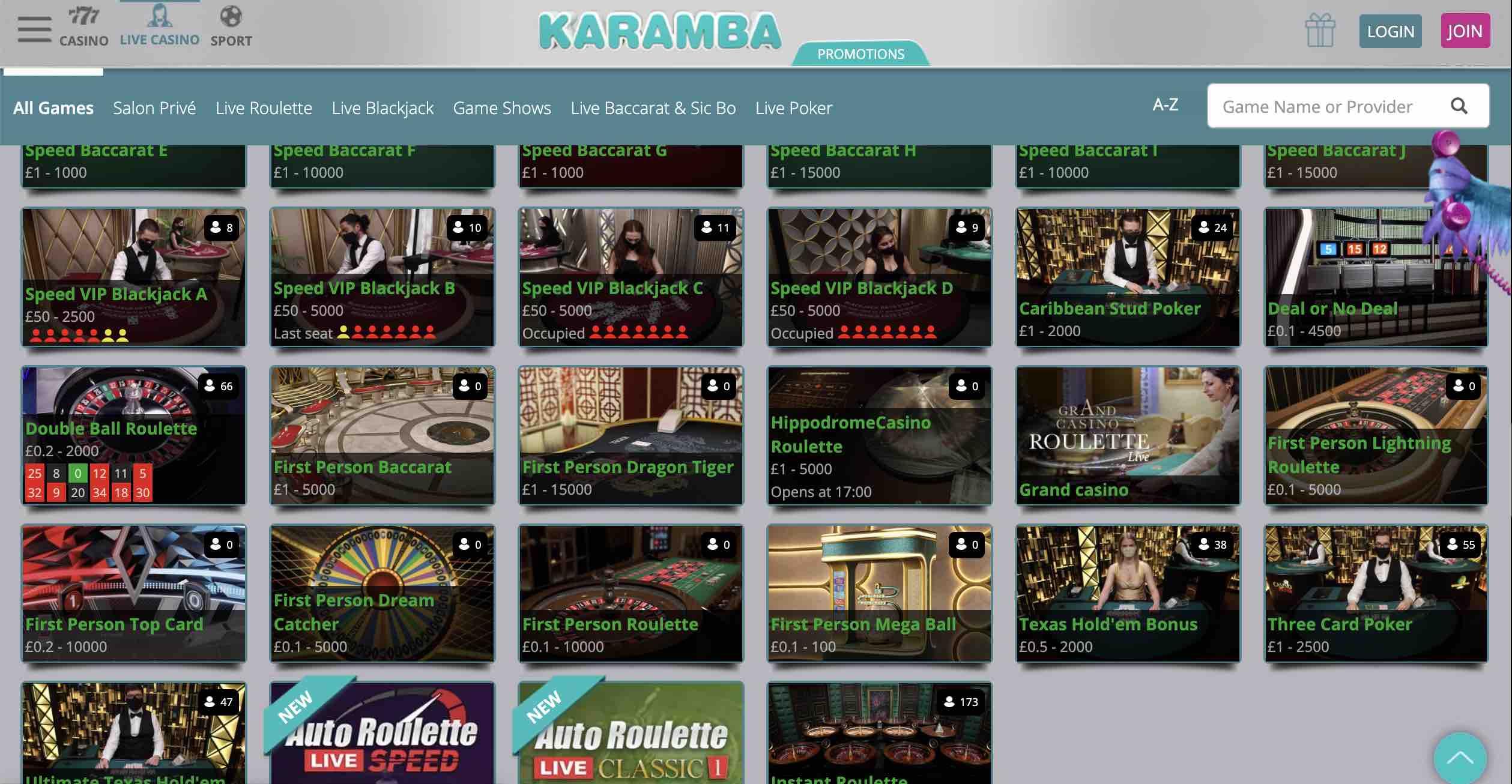 The Best Karamba Casino Slots