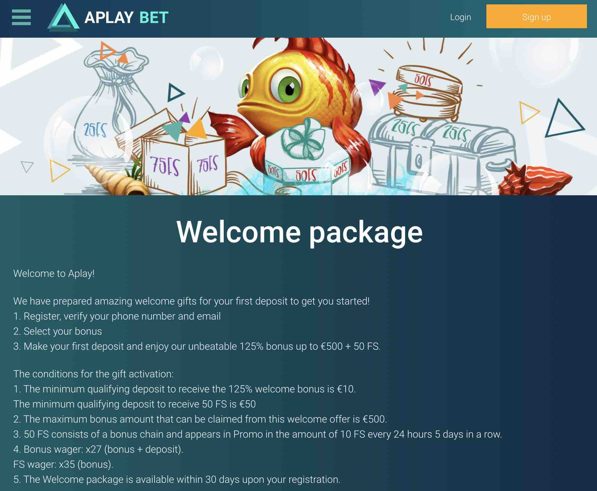 play APlay Casino today