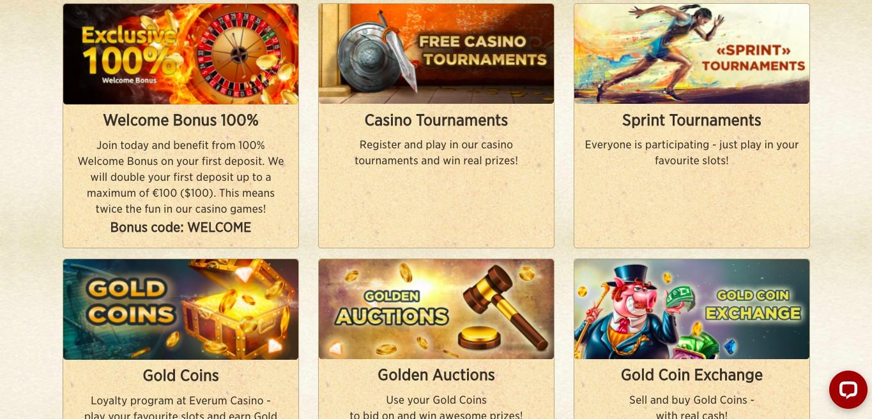 Everum Casino Promotions