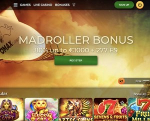 Join MadMax Casino