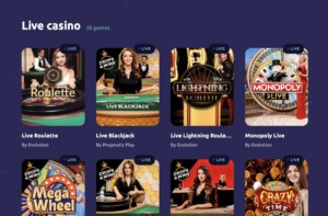 Spin Away Casino Live Games