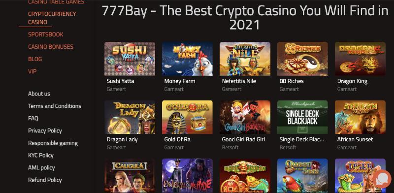 777Bay Games