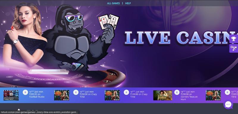 Mr Luck Live Casino