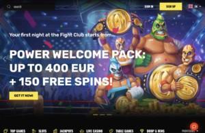 Fight Club Casino Bonuses