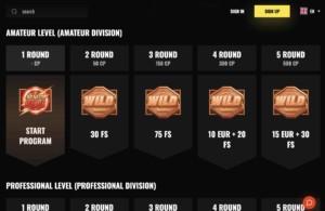 Fight Club Casino VIP Scheme